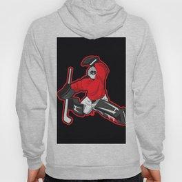 illustration of ice hockey goalie Hoody