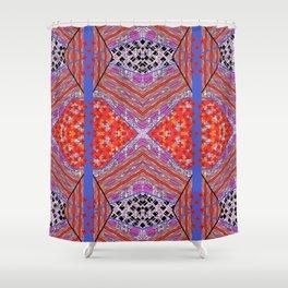 Geo Diamond Shower Curtain