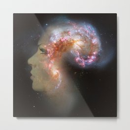The Antennae Galaxies Metal Print