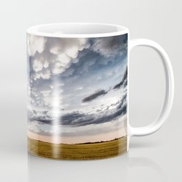 After the Storm - Spacious Sky Over Field in West Texas Coffee Mug