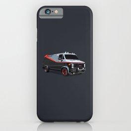 The A Team van illustration iPhone Case