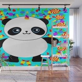 Pandacorn Candy Wall Mural