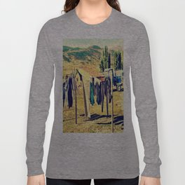 Laundry Day On The Farm Long Sleeve T-shirt