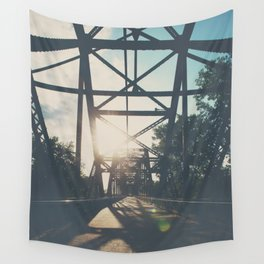 crossing the Mississippi ... Wall Tapestry