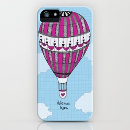 Hot Air Balloon, Spanish iPhone Case