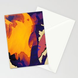 Morning Purple Stationery Cards