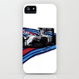 Williams Martini Racing Bottas iPhone Case