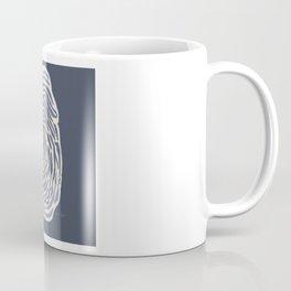 Fingerprint Study Coffee Mug