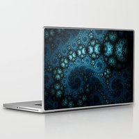 doom Laptop & iPad Skins featuring Watery Doom by Keila Neokow