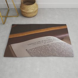 Reading about Thingum Rug