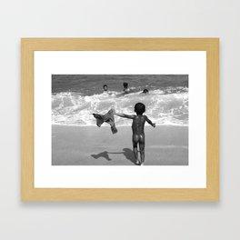 Children of Bali Framed Art Print