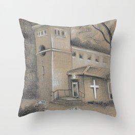 St. Mary's Sewanee Throw Pillow