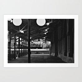 Train Station (Nashville,TN) Art Print