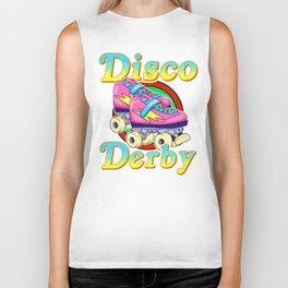 Disco Derby Roller Skates Biker Tank