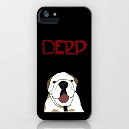 Derp Case 2 iPhone Case
