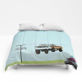 Fall Guy Comforters