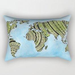 ZENtastic World Rectangular Pillow
