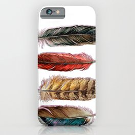 Country Feathers iPhone Case