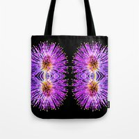 transparent Tote Bags featuring Transparent Dreams  by Louisa Catharine Photography And Art