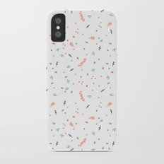 Forest Confetti iPhone X Slim Case