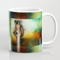 donkey Mugs featuring Donkey by Ginkelmier