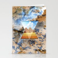 egypt Stationery Cards featuring EGYPT by sametsevincer