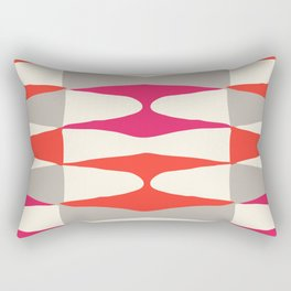Zaha Type Rectangular Pillow