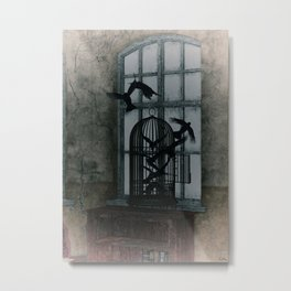 Evanescent Freedom Metal Print