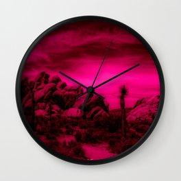 Joshua Tree #36 Wall Clock