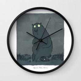 Beware Big Bears Wall Clock