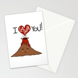 I Lava You! Stationery Cards