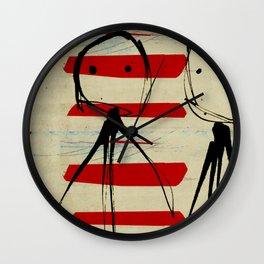 « the best friends » Wall Clock