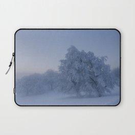 Snowy Trees Laptop Sleeve