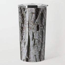 Rustic Tree Bark Travel Mug
