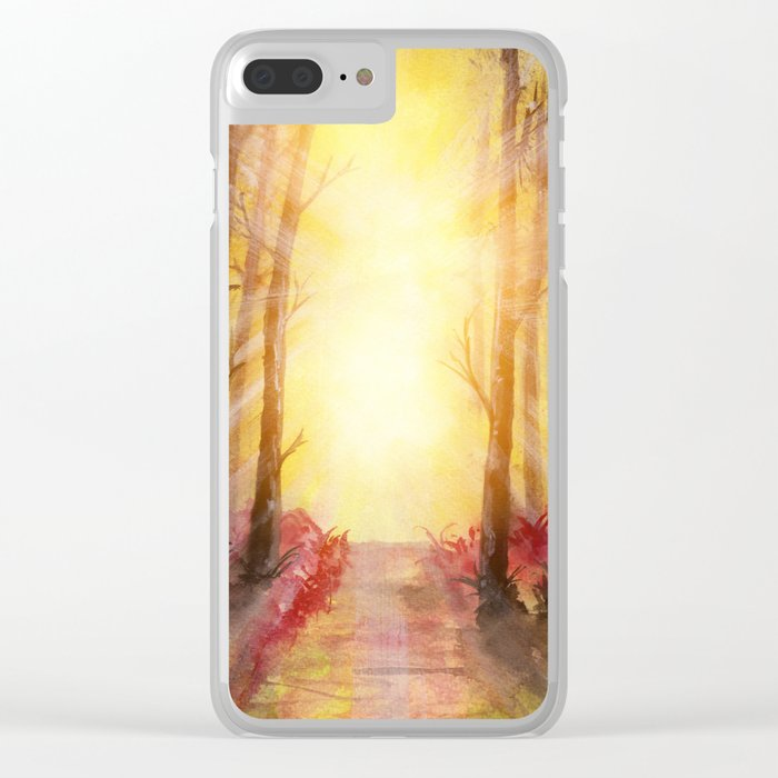 Into The Forest V Clear iPhone Case