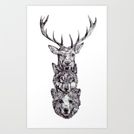 For a Friend Art Print