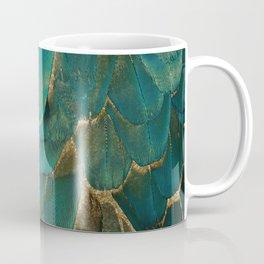 Feather Glitter Coffee Mug