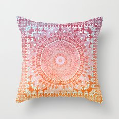SPRING MANDALIKA Throw Pillow