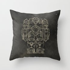 Hulkbuster Throw Pillow