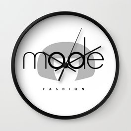 Edna Mode Fashion (logo big) Wall Clock