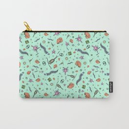 Microscopic Animals Carry-All Pouch