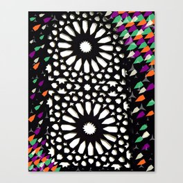 spiritual lights Canvas Print