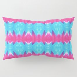 Summer Vibes Tie Dye in Pink Turquoise Pillow Sham