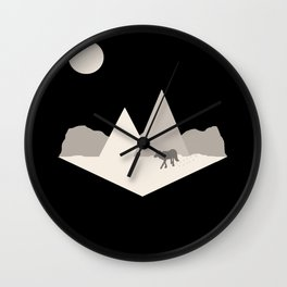 On the Prowl Wall Clock
