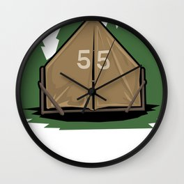 Flew The Coop Wall Clock