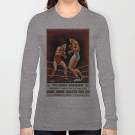 Vintage poster - Boxing Long Sleeve T-shirt