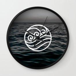 Water Tribe Wall Clock