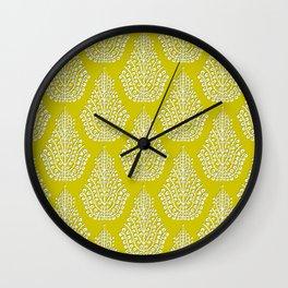 SPIRIT lime white Wall Clock