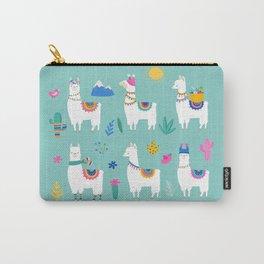 Hola, Llama Carry-All Pouch