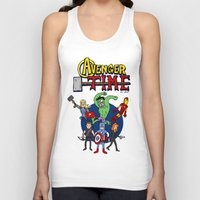 avenger Tank Tops featuring Avenger Time by MattHercock